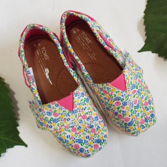 Toms Shoes | Toddler Flower Print